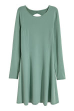 Cut-out dress - Dusky green - Ladies | H&M CN 2