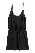 Playsuit - Black - Ladies | H&M CA 2