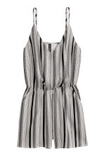 Playsuit - White/Striped -  | H&M 2