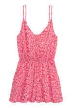 Playsuit - Red/Patterned - Ladies | H&M CN 2