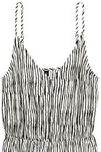 Playsuit - Natural white/Black/Striped -  | H&M CN 2