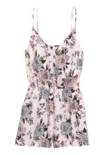 Playsuit - Light pink/Floral - Ladies | H&M 2