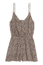 Playsuit - Leopard print - Ladies | H&M 2