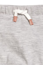 Jersey trousers - Grey/Fine stripe -  | H&M CN 2