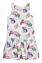 Lot de 2 robes en jersey - Jaune clair/My Little Pony - ENFANT | H&M CH 3