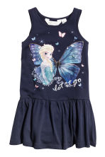2-pack jersey dresses - Dark blue/Frozen - Kids | H&M 2