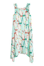Printed jersey dress - Mint green/Parrot - Kids | H&M 2