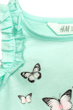 無袖上衣 - Mint green/Butterflies - Kids | H&M 3
