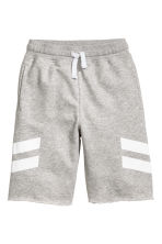 Sweatshirt shorts - Grey marl - Kids | H&M 2