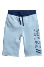 Sweatshirt shorts - Light blue marl - Kids | H&M 2