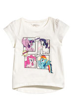 Top in jersey, 2 pz - Verde menta/My Little Pony - BAMBINO | H&M IT 2