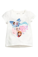 Top in jersey, 2 pz - Blu scuro/Frozen - BAMBINO | H&M IT 3