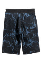 Shorts in felpa - Nero/blu -  | H&M IT 3