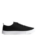 Twill trainers - Black - Ladies | H&M 2