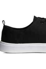Sneakers in twill - Nero - DONNA | H&M IT 5