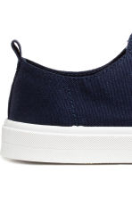 Twill trainers - Dark blue - Ladies | H&M 4