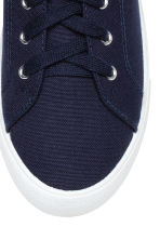 Twill trainers - Dark blue - Ladies | H&M 3