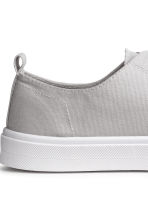 Twill trainers - Light grey - Ladies | H&M 4