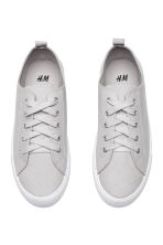 Twill trainers - Light grey - Ladies | H&M 2