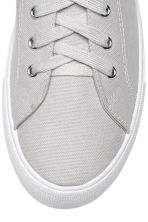 Twill trainers - Light grey - Ladies | H&M 3