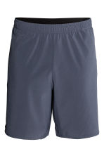 Sports shorts - Dark grey-blue - Men | H&M CN 2