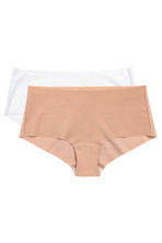 Shortie 2件入平口褲 - Chai - Ladies | H&M 2