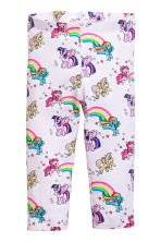3/4-length leggings - Light pink/My Little Pony - Kids | H&M 2