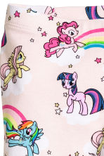 3/4-length leggings - Light pink/My Little Pony - Kids | H&M 5