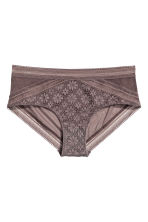 Lace hipster briefs - Truffle - Ladies | H&M 2