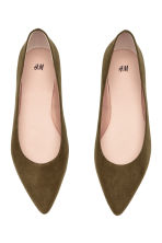 Ballet pumps - Khaki green - Ladies | H&M 2