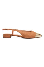 Slingbacks - Light brown - Ladies | H&M CN 1