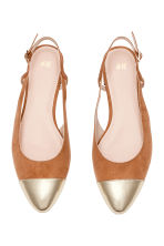 Slingbacks - Light brown - Ladies | H&M CN 2