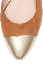 Slingbacks - Light brown - Ladies | H&M CN 3