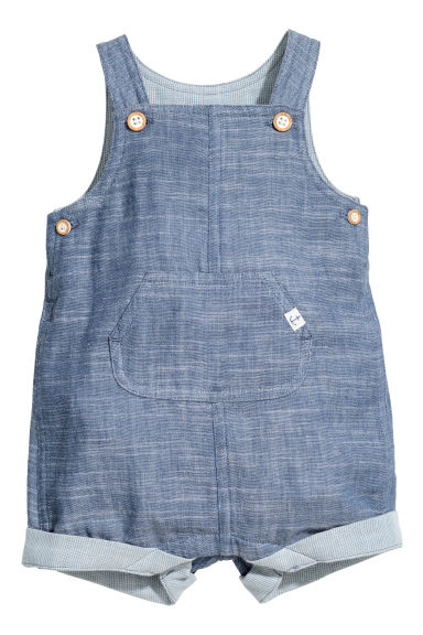 Salopette short - Bleu denim - ENFANT | H&M FR 1