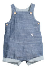 Salopette corta - Blu denim - BAMBINO | H&M IT 1