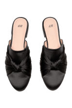 Sandali slip-on - Nero - DONNA | H&M IT 2