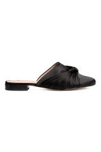 Sandali slip-on - Nero - DONNA | H&M IT 1