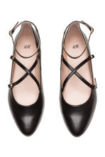 Flat strappy shoes - Black - Ladies | H&M CN 2