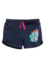 Jersey vest top and shorts - White/My Little Pony - Kids | H&M 3