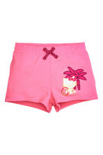 Top et short en jersey - Rose/Hello Kitty - ENFANT | H&M CH 2