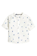 Patterned shirt - White/Fruit - Kids | H&M 2