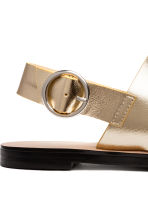 Sandals - Gold - Ladies | H&M CN 5