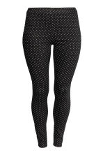 H&M+ Treggings - Black/Spotted - Ladies | H&M 2