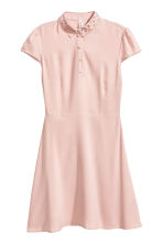 Crêpe dress - Old rose - Ladies | H&M 2