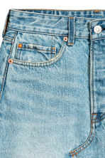 Denim skirt - Light denim blue - Ladies | H&M CN 4
