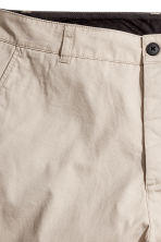 Knee-length cotton shorts - Beige -  | H&M CN 5