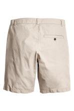 Knee-length cotton shorts - Beige -  | H&M CN 4