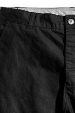Knee-length cotton shorts - Black - Men | H&M CN 3