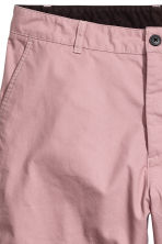 Knee-length cotton shorts - Dusky pink - Men | H&M 3