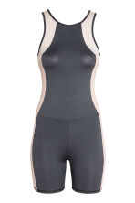 Short tri suit - Dark grey/Powder - Ladies | H&M 2